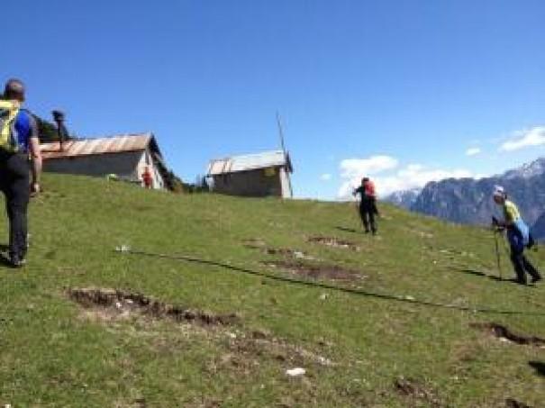 Escursione casera Busnich 8 maggio 2016