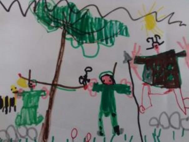 CSMS, primo giorno di asilo… che forti i bambini