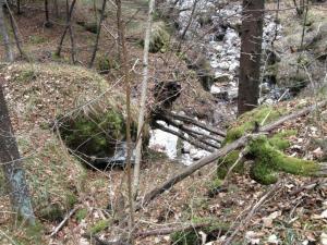 Opera cementizia di fondo valle