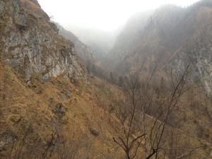 Vista verso valla de le Pelade